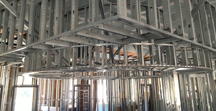 Metal Framing Commercial Interiors Llc Charleston Sc